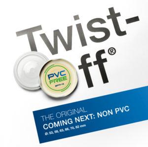 Silgan Twist off pvc free